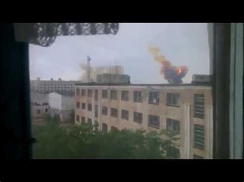 Russian Proton by Russian Proton M Rocket Explodes