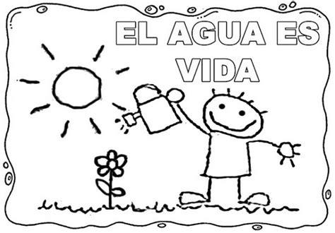 imagenes para colorear sobre el cuidado del agua dibujos del cuidado del agua para colorear el 22 de marzo