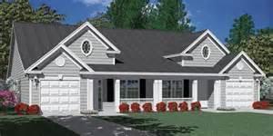 southern heritage home designs duplex plan 1392 d