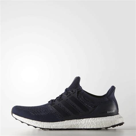 adidas mens ultra boost running shoes collegiate navy