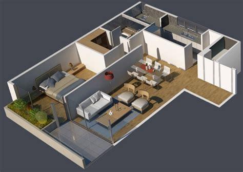 plano de habitacion planos 3d