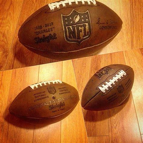 Handmade Leather Football - custom leather football