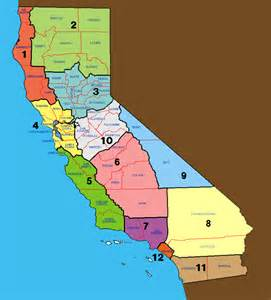 map of counties in california california counties clickable map