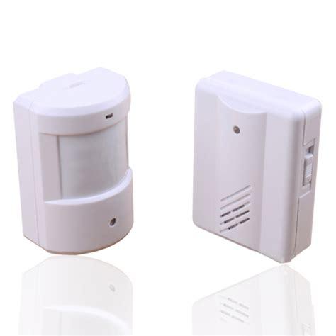 wireless driveway garage infrared alert secure system