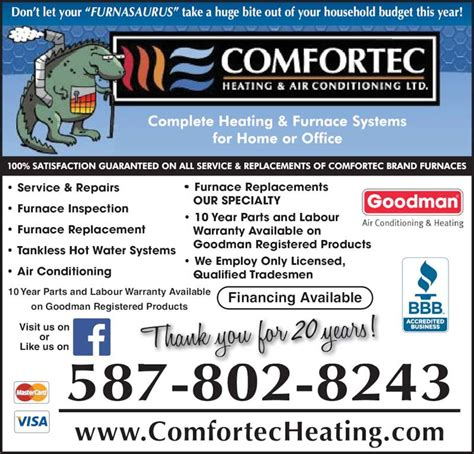 comfortec heating air conditioning  opening hours