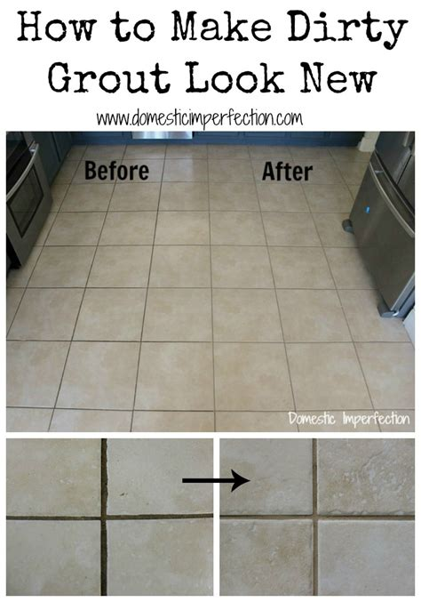 how to grout how to make dirty grout look new domestic imperfection