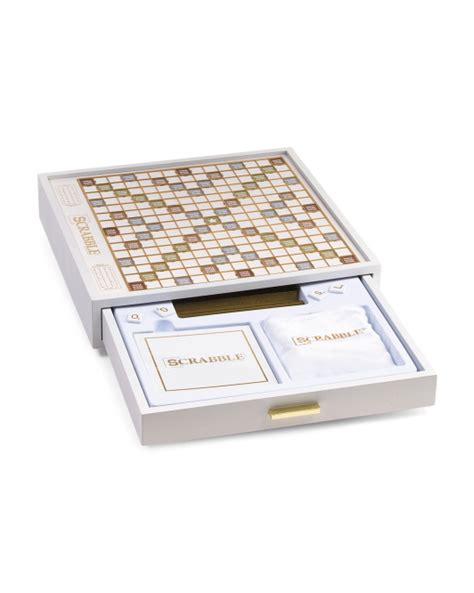 luxury scrabble set luxury modern scrabble t j maxx