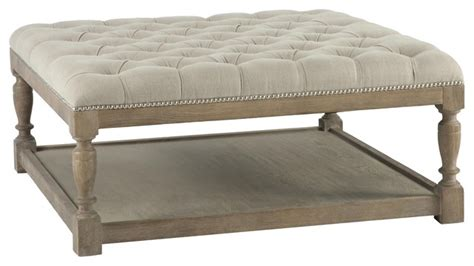grey leather ottoman coffee table aidan gray ag basics cole coffee table ottoman modern