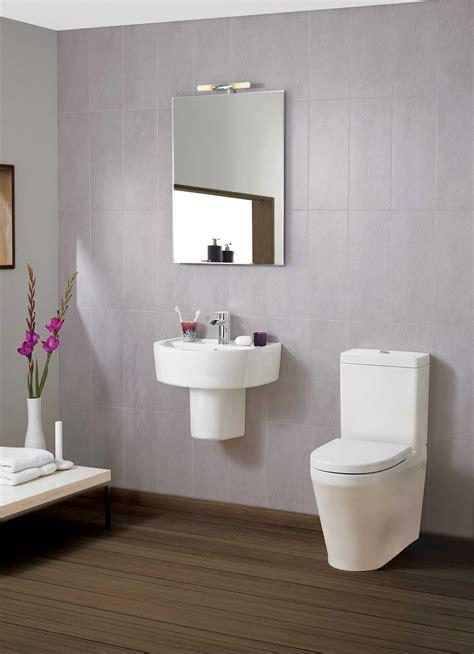 Elation Bathroom Furniture Beo Elation 420mm 1 Tap Basin And Semi Pedestal