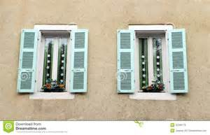 Home Window Decor antique french house window decor stock photos image