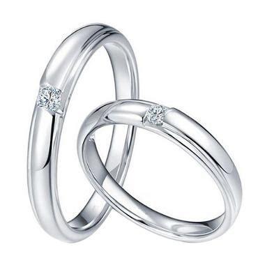 Cincin Xuping Putih jual tiaria morning dew cincin pernikahan emas putih 18k harga kualitas