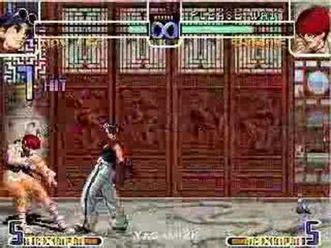 king  fighter  combos sencillos de  lee youtube