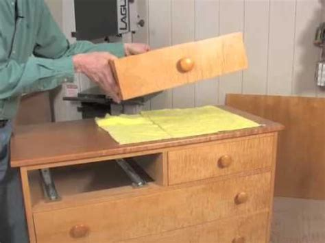 Installing Drawer Runners by Installing Mount Drawer Slides