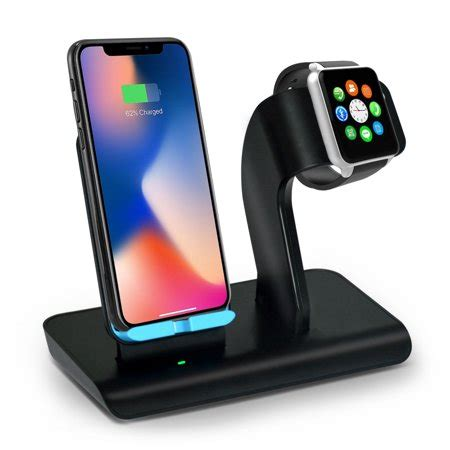 apple  stand iphone wireless charger stand