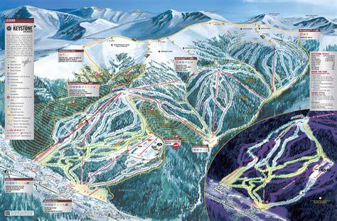 map of colorado ski resorts keystone ski resort colorado ski areas