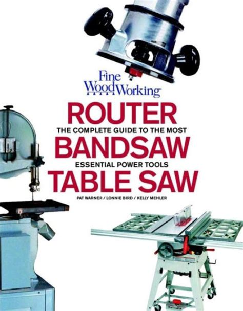 router bandsaw  tablesaw fine woodworkings complete