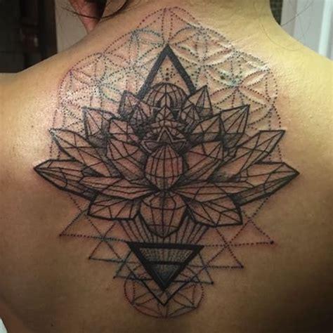 sacred lotus tattoo image result for geometric lotus ideas