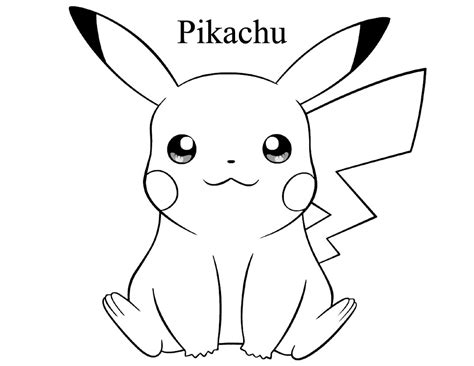 Pikachu Cake Template by Coloring Pages Free Http Freecoloring