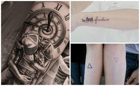 imagenes de tatuajes que simbolizan a los hijos tatuajes de familia todos los dise 241 os y significados para