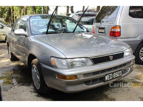 toyota corolla 1995 seg 1 6 in kuala lumpur manual sedan grey for rm 13 800 3918720 carlist my