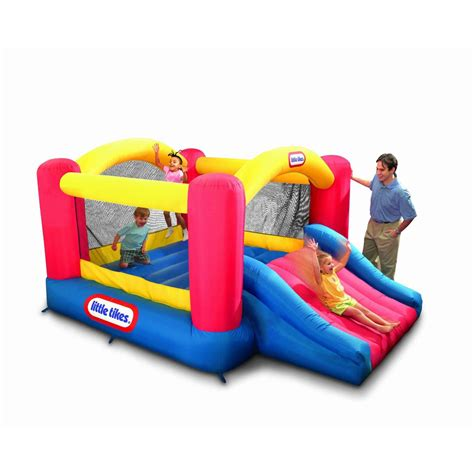 tikes jump n slide bouncer by oj commerce