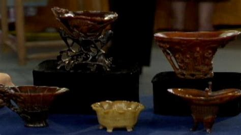 antiques roadshows most valuable find ever rhino cups may set the world s fair of money plans to attract large crowds