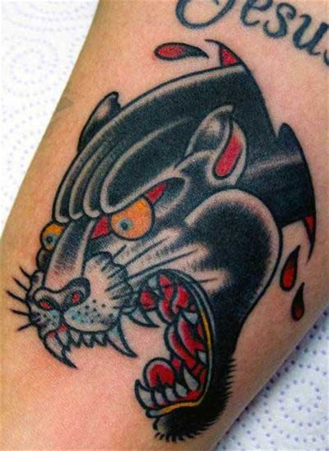 tattoo arm man old school 70 panther tattoo designs for men cool big jungle cats