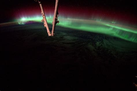 auroras from space pictures picture of the day this was just taken from space