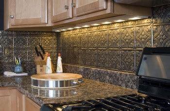 aluminum backsplash kitchen tin backsplash new trends for nostalgic style