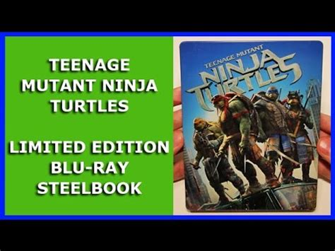 unboxing annie 2014 film version blu ray youtube teenage mutant ninja turtles 2014 limited blu ray