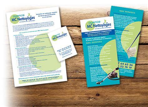 Lettre Entreprise De Nettoyage cr 233 ations graphiques en papeterie carte de visite t 234 te