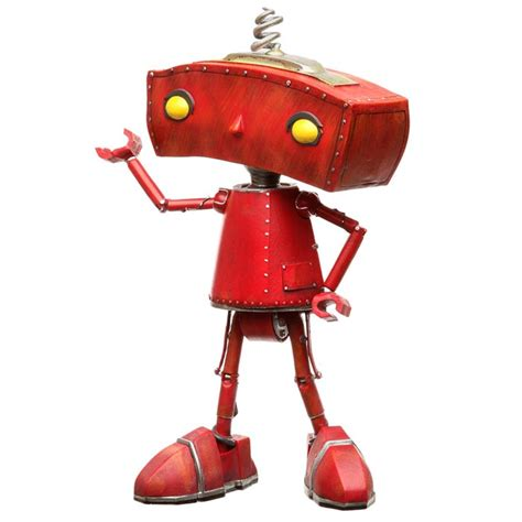 figure robot limited edition bad robot collectible figure gadgetsin