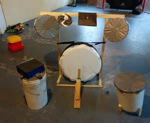 make a home how to make a drum set