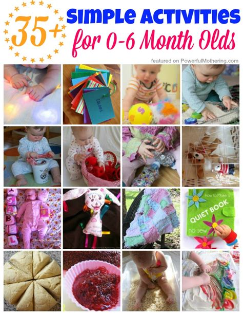new year 2015 activities for babies 35 simple activities for 0 6 month olds