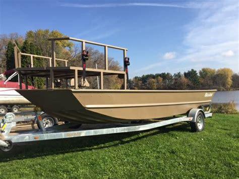 fishing boat for sale janesville wi seaark mv2072 bowfishing boat ox bo marine boats for