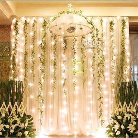 Wholesale 300 Led Light 3m 3m Curtain Lights Christmas Wedding Light Backdrop