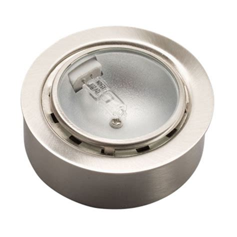 Kichler Puck Lights Kichler 12501ni Taskwork Recessed Flush Xenon Puck Light 20 Watt 12 Volt 4 9 Lumens Per Watt