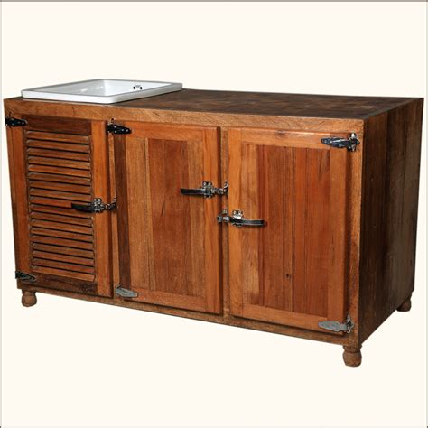 Buffet Kitchen Cabinet Rustic Solid Wood Ceramic Wine Bottle Storage Buffet Cabinet Kitchen Island Ebay
