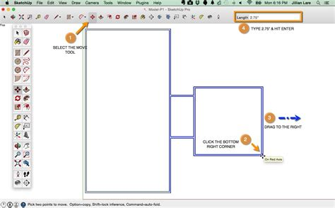 floor plan tutorial draw a floor plan in sketchup from field measurements