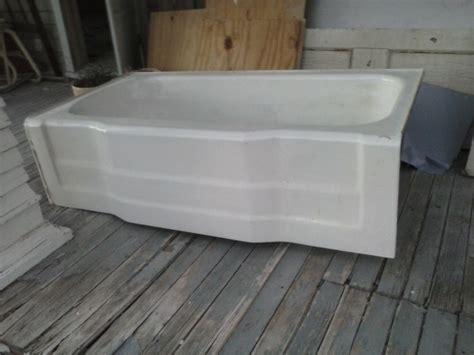 used cast iron bathtub heavy vintage cast iron bathtub bath tub enamel nex tech