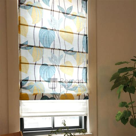 simple pattern for roman shades simple flat shaped botanical pattern soft roman shades