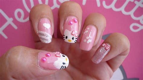 imagenes uñas decoradas kitty u 209 as kawaii hello kitty youtube