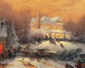 Wizard Of Oz Christmas Tree Ornaments - victorian christmas ii the thomas kinkade company