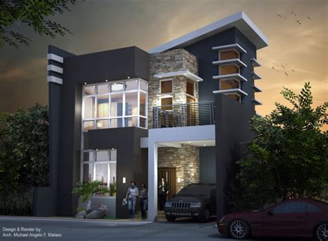 three story homes 2018 proposed two storey modern house home design