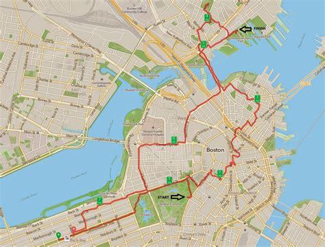freedom trail boston map the most american run the freedom trail