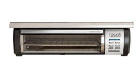 Cabinet Toaster Oven counter ovens black and decker logo black and
