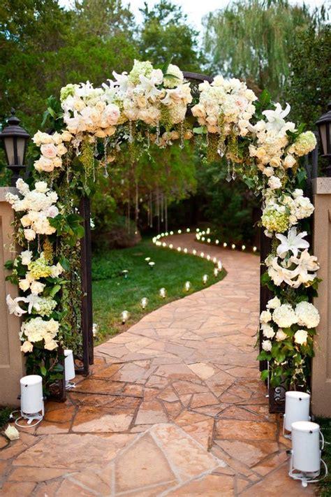 best 25 wedding walkway ideas on backyard