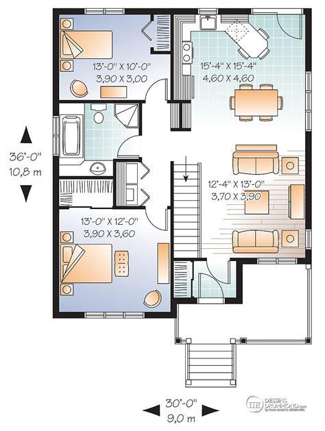 Idée Plan Maison En Longueur 3870 by Idee Plan De Maison Ventana