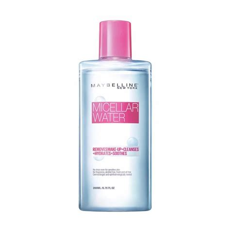 jual maybelline clean micellar water 200 ml