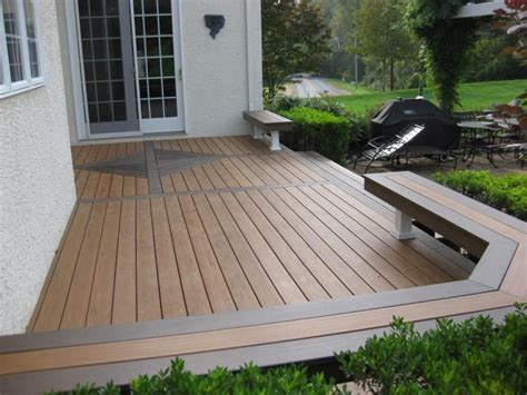 decks without railing designs best deck railing systems 9 decks pinterest decking